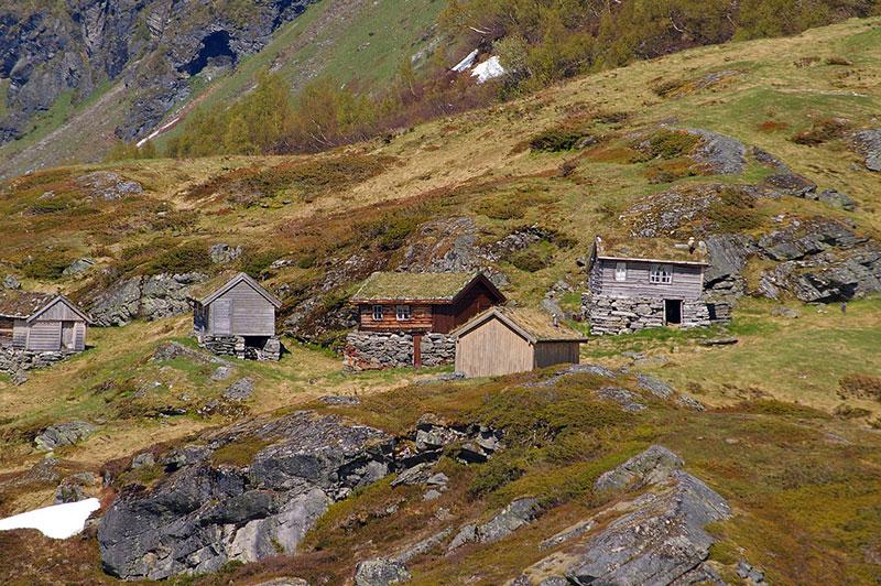 Норвегия весной