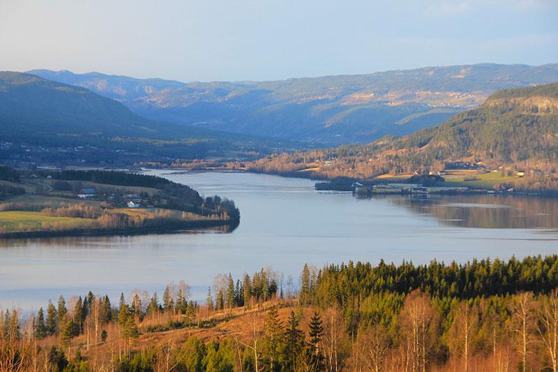 Норвеги осень