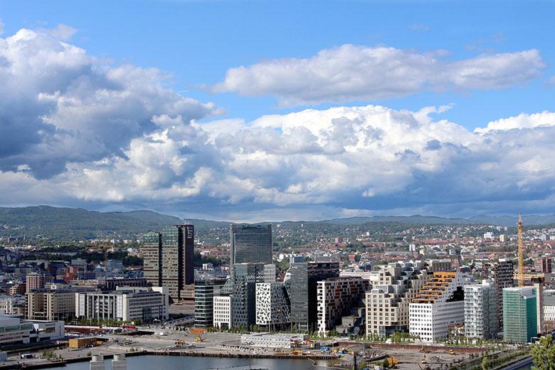 зарплата в Норвегии