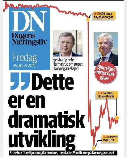 газета в Норвегии