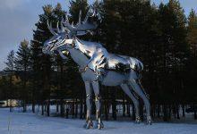 Статуя Лося в Норвегии