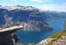 «Язык тролля» в Норвегии